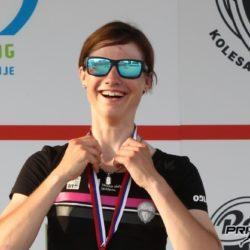 Špela Kern, kolesarka